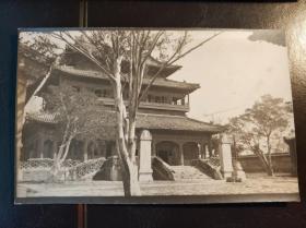 民国北京园林建筑物老照片一张