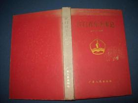 江门百年大事记:(1854-1993)-精装