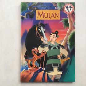 原版进口法语书,迪士尼童话 木兰从军 1999