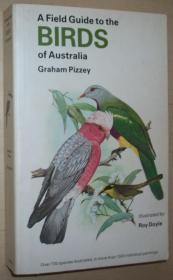 英文原版书 A Field Guide to the Birds of Australia  1983 by Graham Pizzey (Author), Roy Doyle (Illustrator)