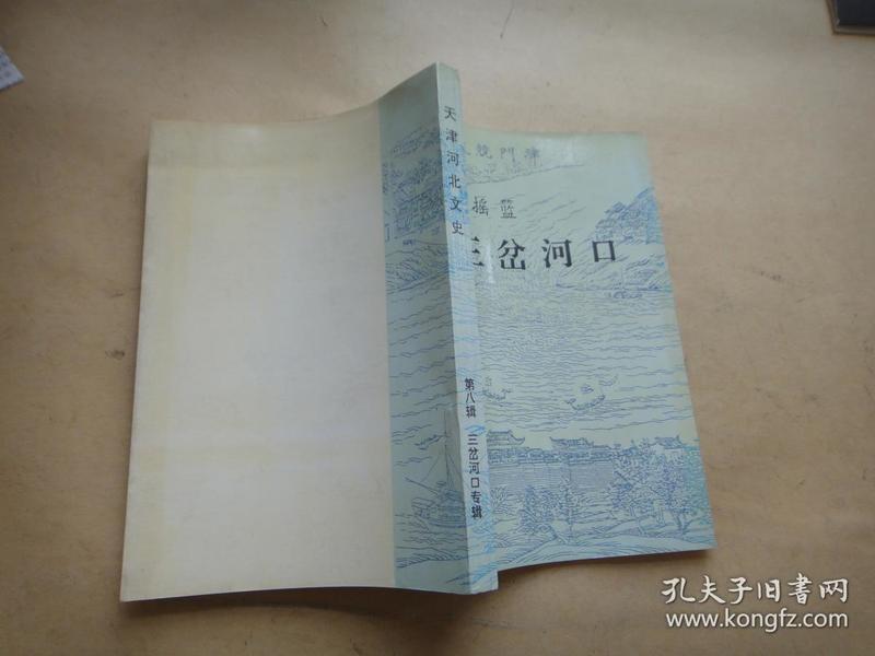 三岔河口【天津河北文史第八辑:天津摇篮三岔河口专辑】
