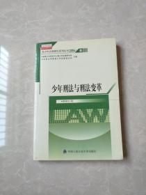青少年法律研究文库·青少年法律研究系列丛书(2004)6:少年刑法与刑法变革