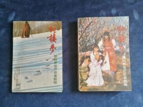 87版 红楼梦电视 剧本 原著改编和原意新续两本 1987年 一版一印 正版