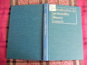An Introduction to Probability Theory 精装原版
