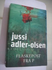 FLASKEPOST FRA P  丹麦语原版 20开