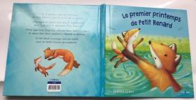 LE PREMIER PRINTEMPS DE PETIT RENARD 法语原版儿童绘本 精装30页 3岁以上