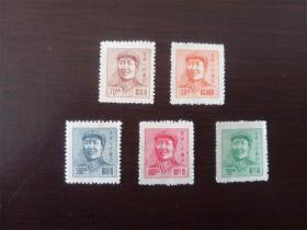 华东区毛主席像5种
