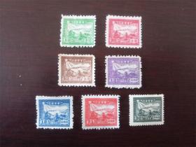 华东区邮运图7种