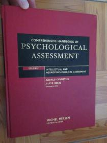 Comprehensive Handbook of Psychological Assessment   (详见图)    硬精装