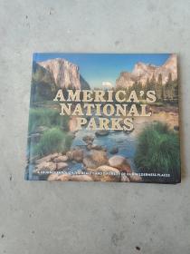 AMERICAS NATIONAL PARKS 美国国家公园  12开精装