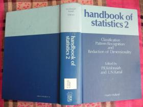 Classification, Pattern Recognition, and Reduction of Dimension (Handbook of Statistics)  2    精装原版