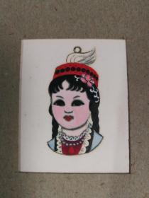 1972年设计手绘原稿,上海徽章厂,一册一卡16幅
