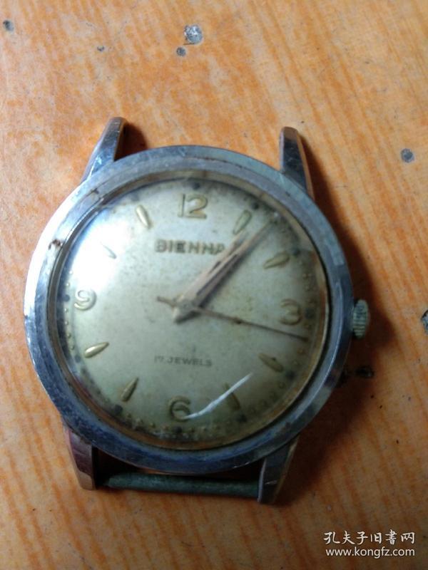 早期瑞士比恩纳机械手表.