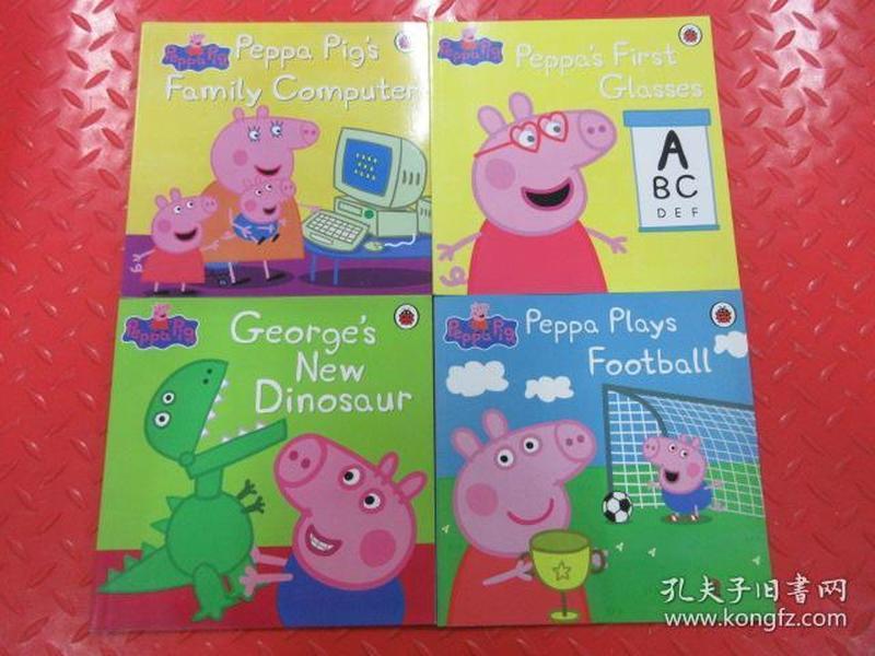 英文书:PEPPAPIG:4本合售 详见图片(中文是小猪佩奇)