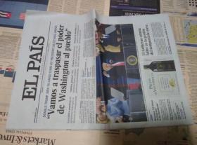 EL PAIS 西班牙国家报 2017/01/21 外文报纸学习参考资料 EL PAÍS: el periódico global en español