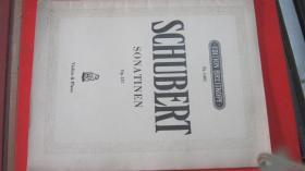 【2309  SCHUBERT小奏鸣曲137 舒伯特曲  小提琴、钢琴