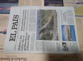 EL PAIS 西班牙国家报 2017/01/19 外文报纸学习参考资料 EL PAÍS: el periódico global en español
