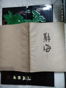 辞海 试行本 第11分册 艺术