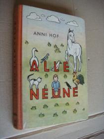 ALLE NEUNE 德文原版32开 精装插图本  1949年出版 厚纸本
