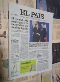 EL PAIS 西班牙国家报 2017/01/28 外文报纸学习参考资料 EL PAÍS: el periódico global en español