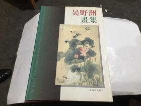 吴野洲画集(8开精装本·1999年初版·印1000册.)....
