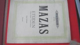 【2310  MAZAS马扎斯小提琴练习曲 作品36号