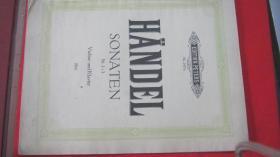 【2311 HANDEL SONATEN.1-3小提琴、钢琴