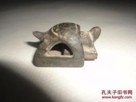 子母 乌龟印章(不知道是什么年代的,不知道是铜的还是金的)约23毫米*23毫米*15毫米
