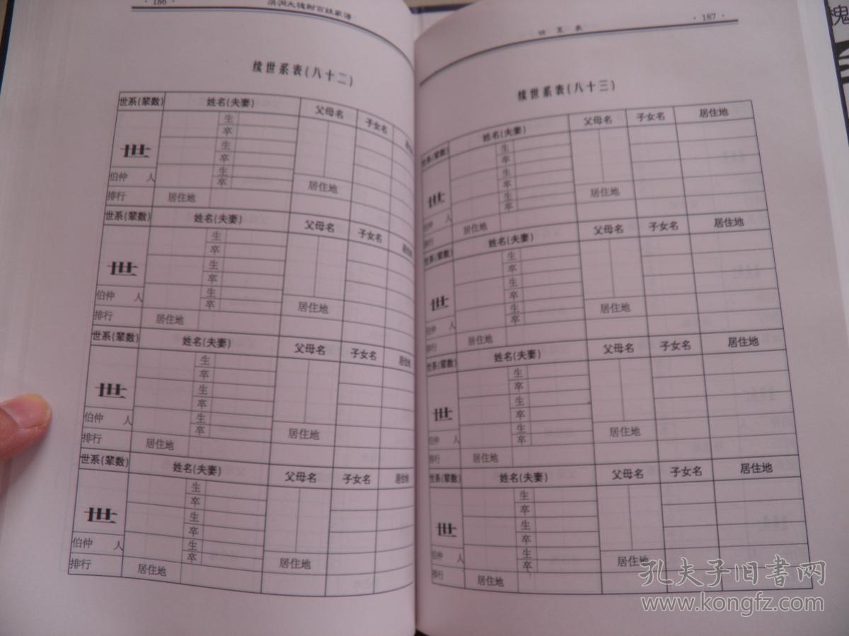 山西洪洞大槐树 百姓家谱-----赵氏(空白未填写,详见图)图片