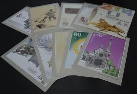 2004年中国邮票设计家邮票未用图稿集萃10件