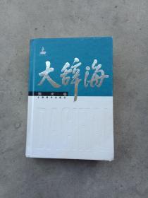 大辞海:美术卷  32开精装