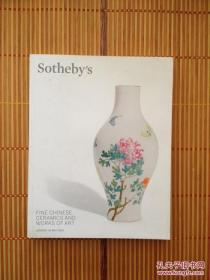 SOTHEBY'S LONDON :FINE CHINESE CERAMICS AND WORKS OF ART苏富比.伦敦 中国瓷器及艺术品拍卖图录(2014年5月)