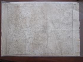 1949年1月华东野战军陆地测量队制:当涂县查家湾