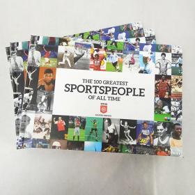 体育历史 the 100 greatest sportspeople of all time 英文原版书