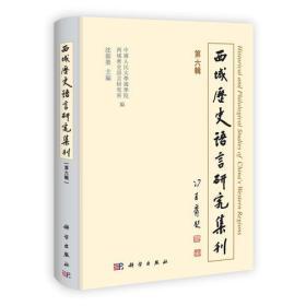 西域历史语言研究集刊(第六辑)