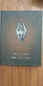 原版精装16开英文书:THE SKYRIM LIBRARY