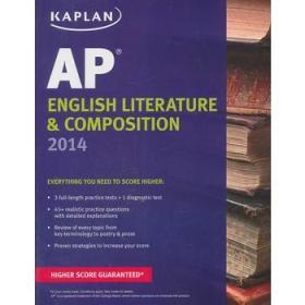 Kaplan AP English Literature & Composition 2014 (Kaplan AP Series)