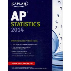 Kaplan AP Statistics 2014 (Kaplan AP Series)