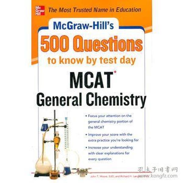 MHS 500 MCAT GENERAL CHEMISTRY QUESTION