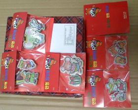 怀旧老物 百货 绝版收藏 90年代进口库存 卡通橡皮擦 儿童文具 童年回忆 4.9元一袋
