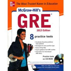 MCGRAW-HILLS GRE WITH CD-ROM, 2013 EDIT
