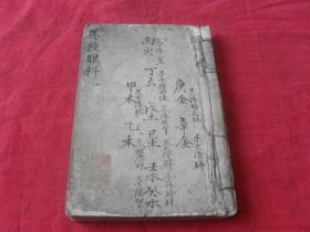 异授眼科---(清光绪手抄本)海筹氏抄