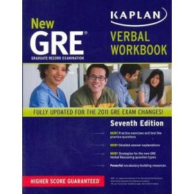 New GRE Verbal Workbook[新GRE口语练习]