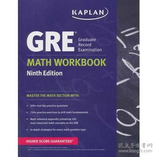 GRE Math Workbook (Kaplan Gre Math Workbook) GRE数学练习