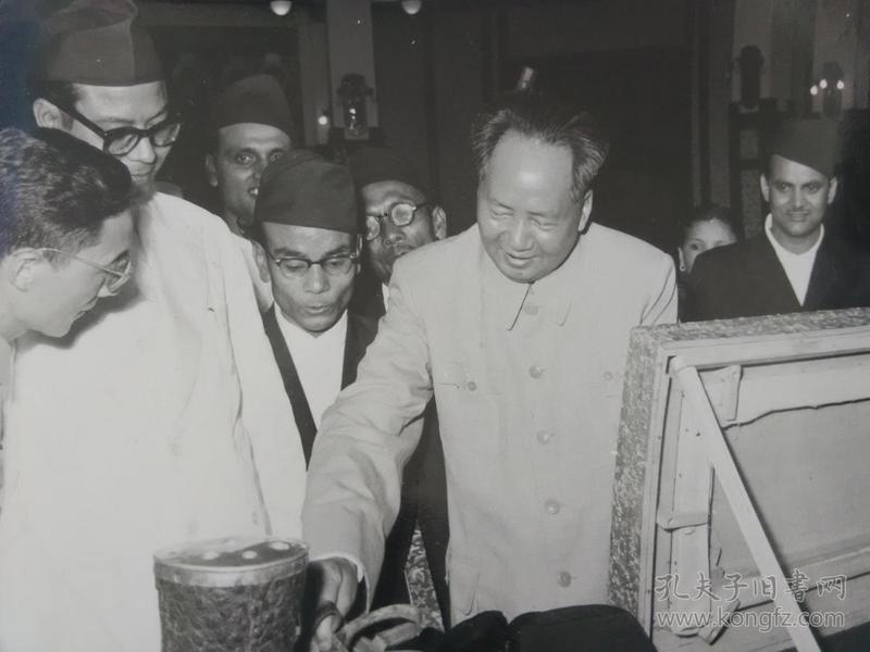 56年毛主席原版照片清晰