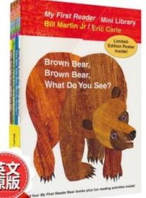 原版Eric Carle: brown bear what do you see 廖彩杏4绘本送音频