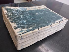 康熙8年巨大开本的和刻《孟子》一套14卷4厚册全~~纸如玉。墨如漆!字大如钱!!!!!!!!!!!!。。。。。。。。