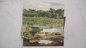 上世纪五十年代上海人民美术出版社出版《西湖风景》明信片9张