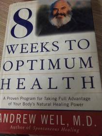 8 WEEKS TO OPTIMUM HEALTH【精装】