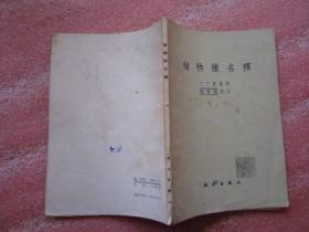 《植物种名释》大32开 【1957年1版  1978年3印】